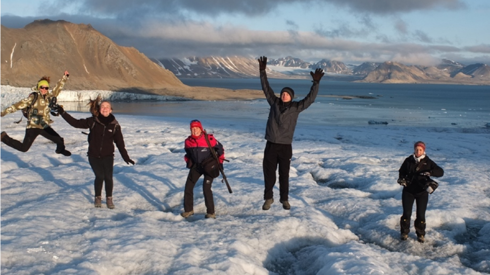 EDU-ARCTIC brings the end of the Earth to schools' doorsteps
