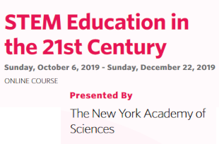 "Book your spot in the ""STEM Education in the 21st Century"" course!"