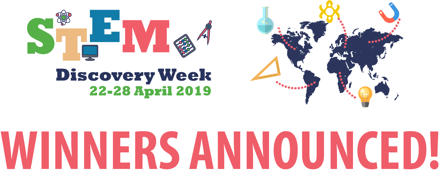 Winners of the STEM Discovery Week 2019 competitions announced!