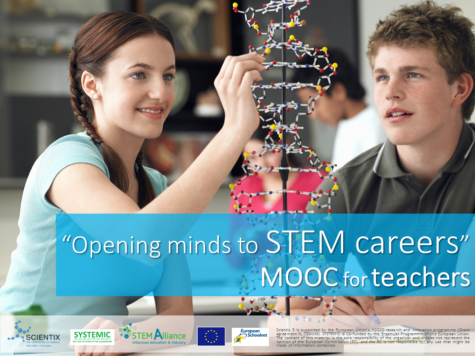 Register now for this Massive Open Online Course on STEM careers!