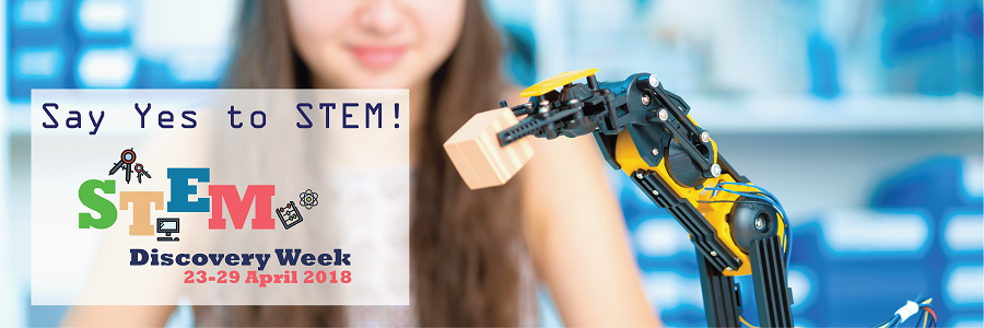 Become a partner of the STEM Discovery Week 2018