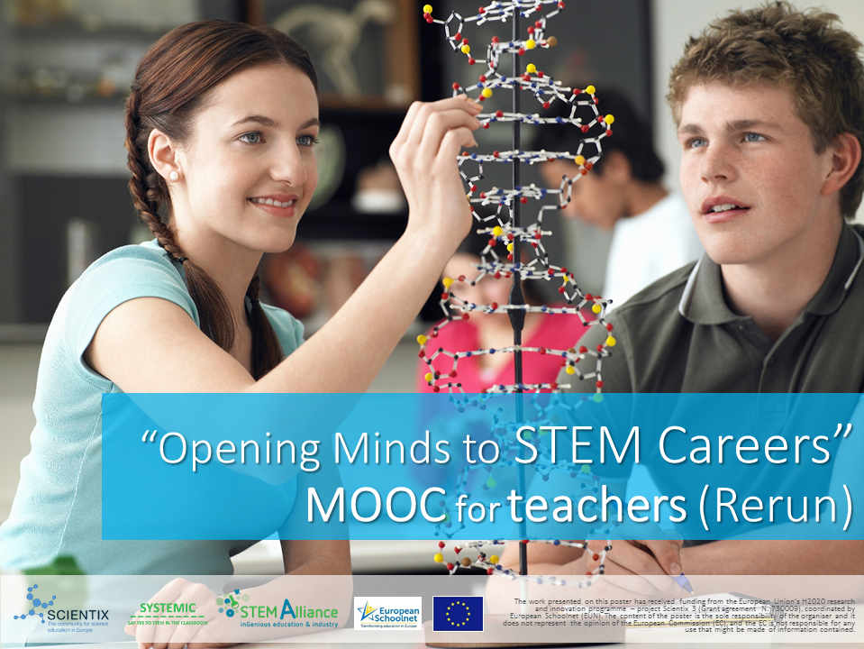 STEM Careers MOOC poster