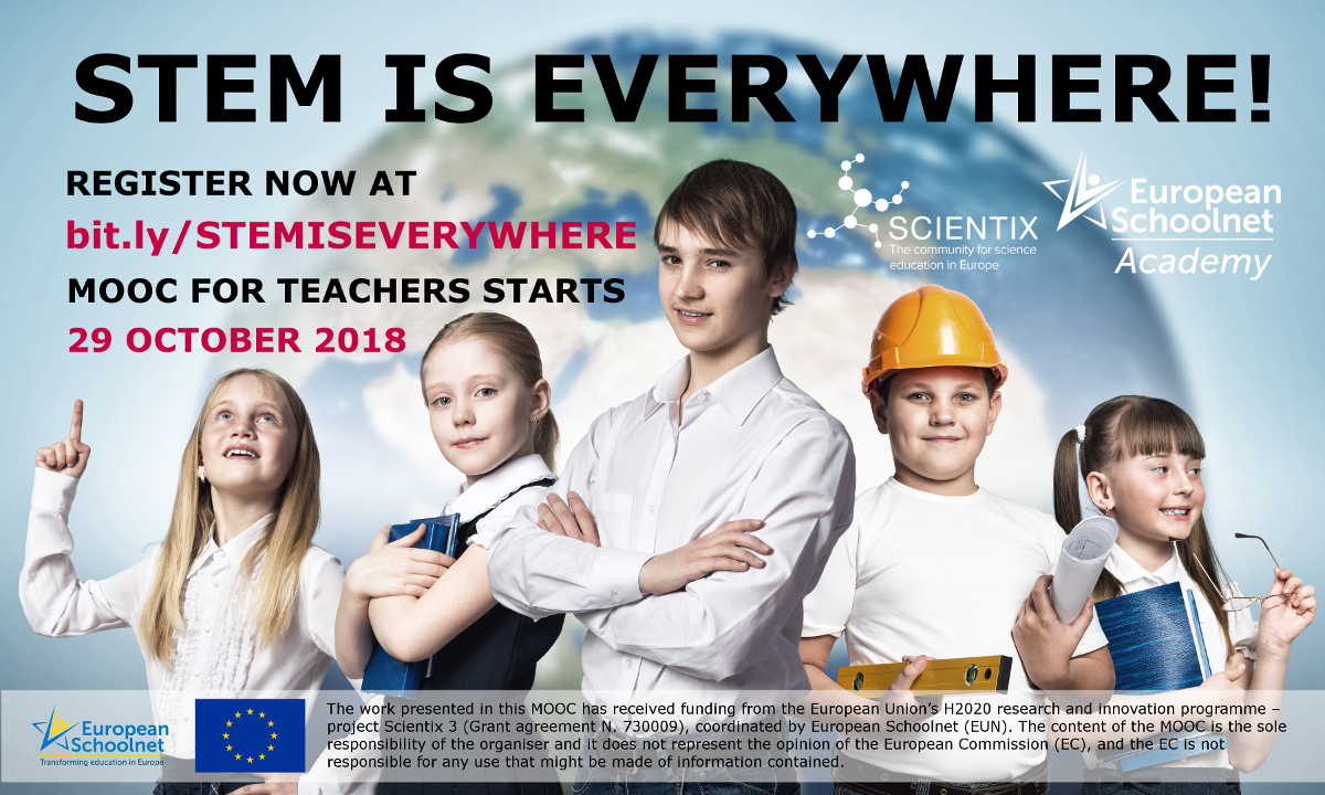 STEM Is Everywhere main promotional poster
