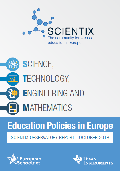 New Scientix report on current STEM Education Policies in Europe