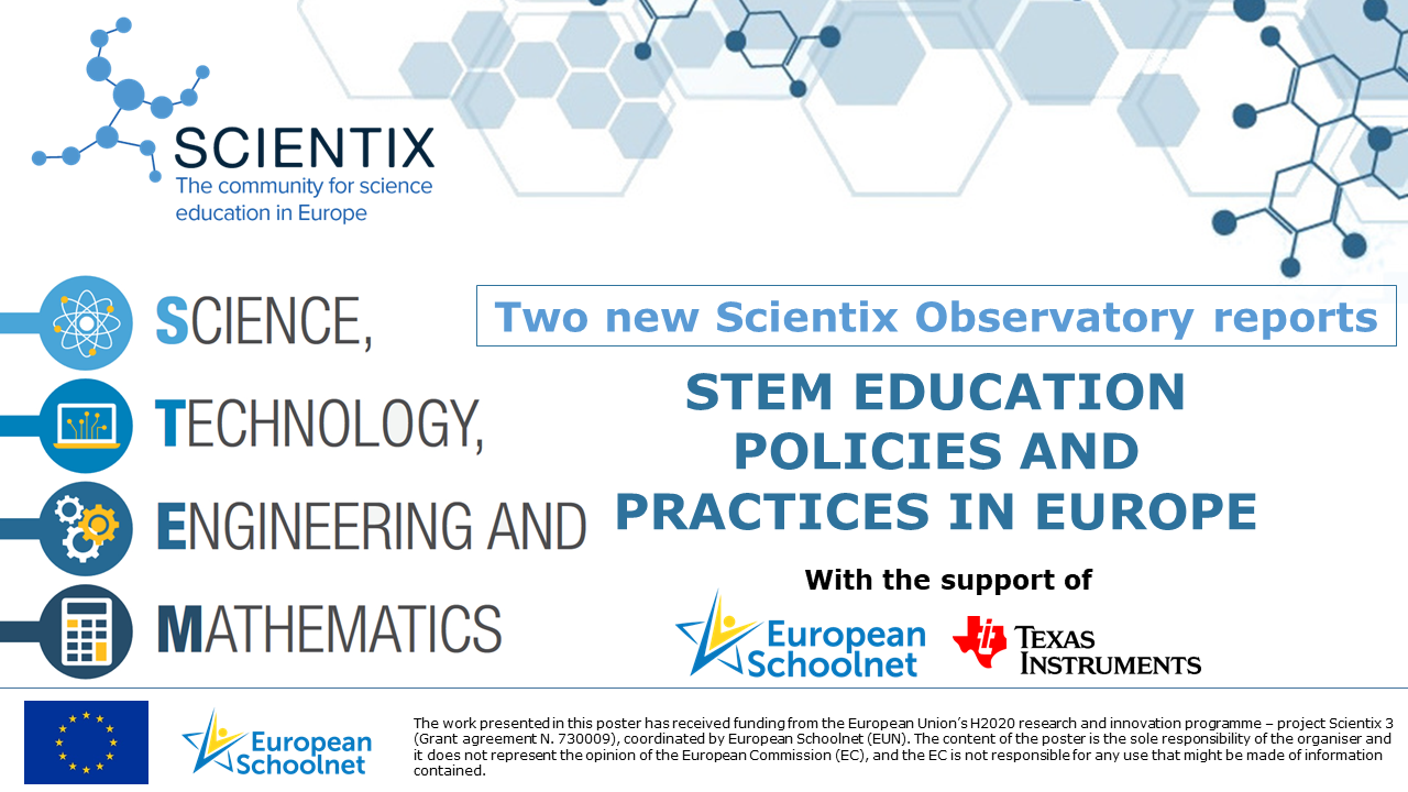 Scientix STEM Policies and Practices Reports 2018 - Slide 2