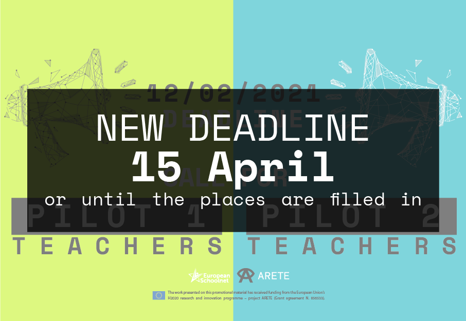 ARETE Call for teachers: Be the first one to use the latest immersive educational technologies!