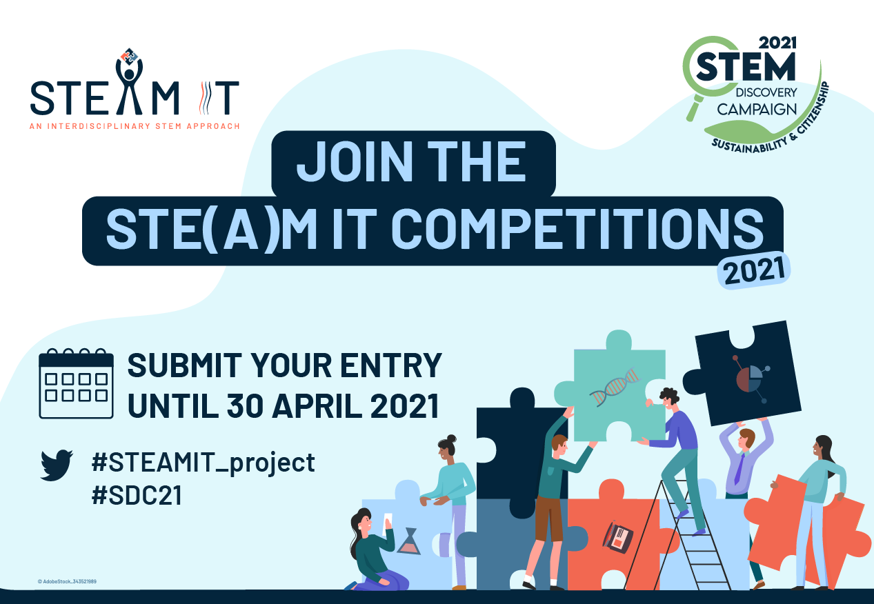 Highlight the importance of creativity in STEM education with the STE(A)M IT Competitions