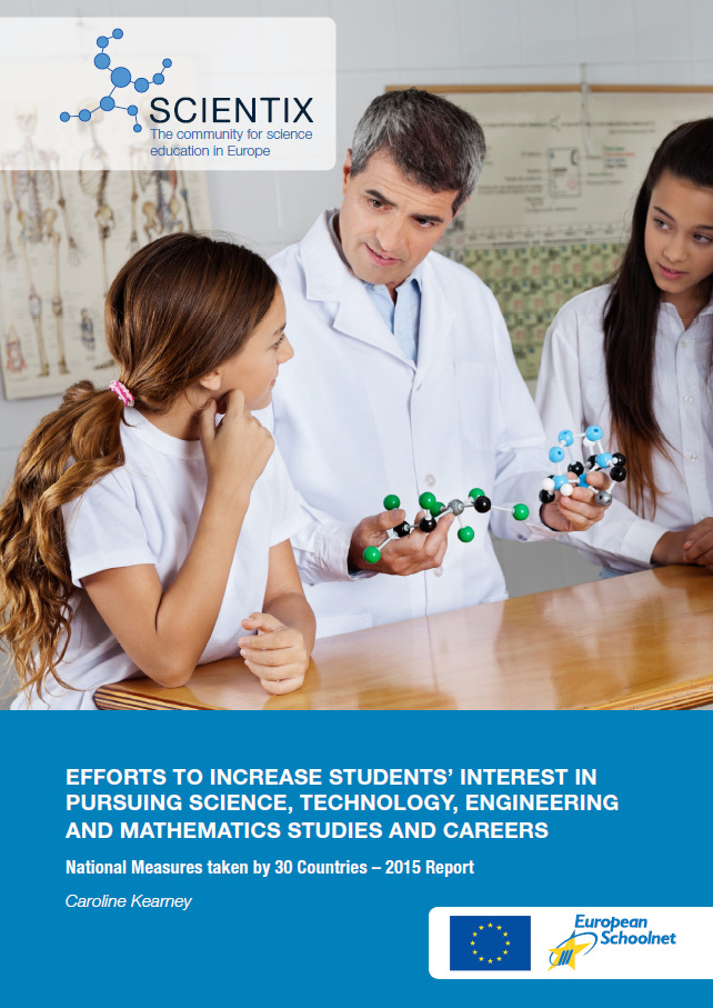 New Scientix report analyses teacher education initiatives supporting students' interest and attainment in STEM studies and careers