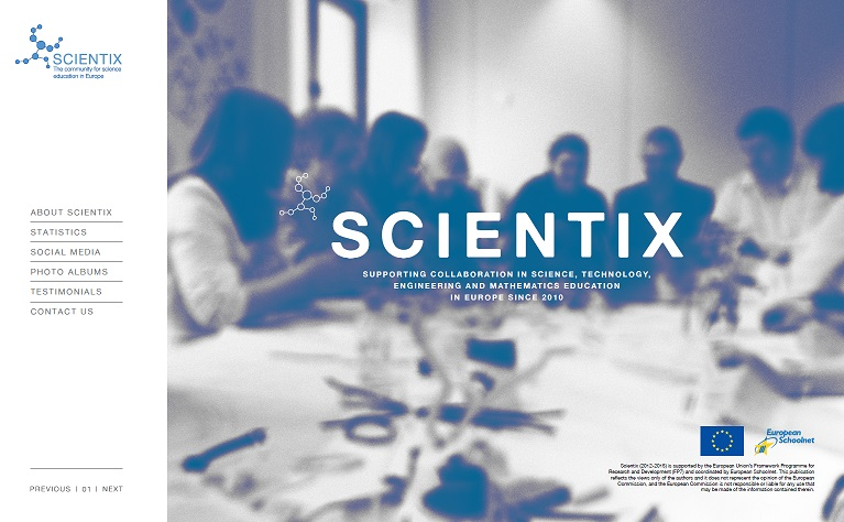 A new interactive eBook about the Scientix community